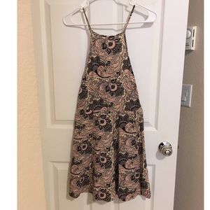 American Eagle paisley mini dress